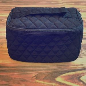 Vera Bradley Travel Cosmetic Bag ~ Classic Black